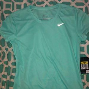 Nike women's dri-fit running shirt